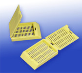Histology/Tissue Processing Cassettes - Yellow, 500 pcs/pack