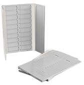 20-place Slide Folder, cardboard, each