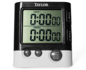 Taylor 5828 Dual Event Timer with Clock, each