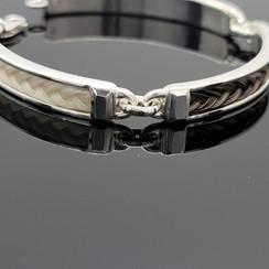 3 bar horse hair bracelet