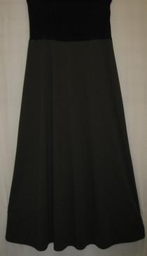"""Style #M24 - Matte Jersey A Line Skirt   39"""" long"""