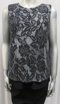 Style #827 Crepe vest