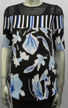 Stlye# F946 Scuba floral top