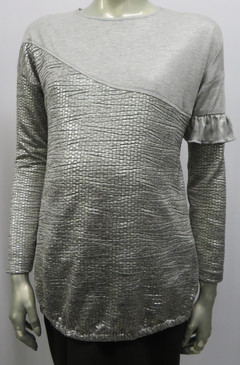 Style # F249 Metallic knit top