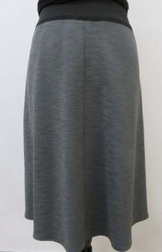"""Style # 0025C Frankie Scuba """"A"""" line skirt"""