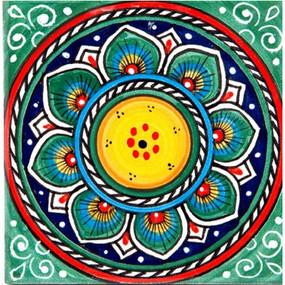 Deruta Green - Italian Ceramic Tile