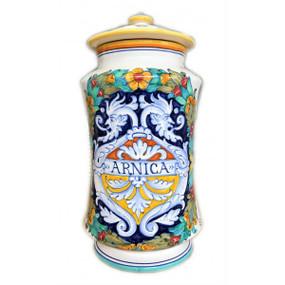 Arnica - Apothecary Jar - Sberna - Italian Ceramics