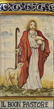 The Good Shepherd Tile - Il Buon Pastore