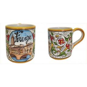 Mug - Firenze - Sberna - Italian Ceramics