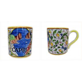 Mug - Capri - Sberna - Italian Ceramics