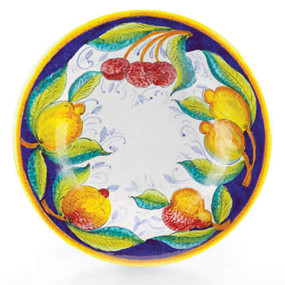 Frutta Large Round Platter - Italian Ceramics