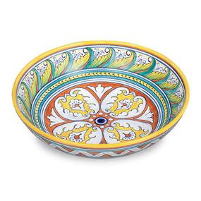Geometrico Medium Bowl - Italian Ceramics