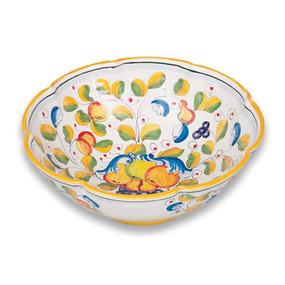 Miele Salad Bowl - Italian Ceramics