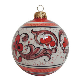 Palla Natale Dec. 8 - Italian Ceramic Ornament