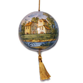Paesaggio Stile Grue - Italian Christmas Ornament