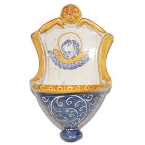 Italian Ceramic Holy Water Font 4