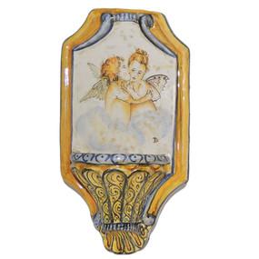 Italian Ceramic Holy Water Font 11