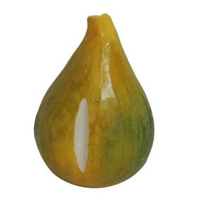 ITALIAN ALABASTER FRUIT - Fig/Green