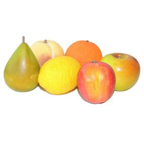 ITALIAN ALABASTER FRUIT  Set of 6