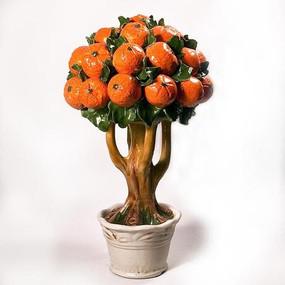 Italian Ceramic Orange Tree