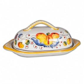 Butter Dish - Italian Ceramics - Miele