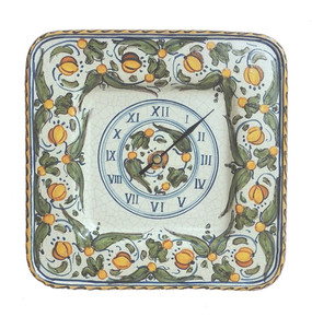 Wall Clock - Lemons - Italian Ceramics