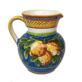 Limone Pitcher Italian Ceramics