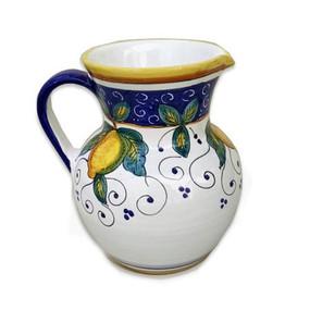 Alcantara PItcher Italian Ceramics