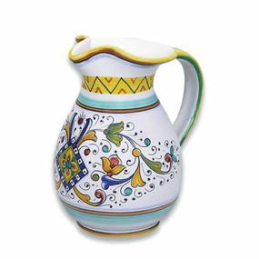 Firenze Pitcher - Italian Ceramics