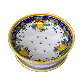 Alcantara Berry Bowl - Italian Ceramics