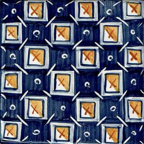Checkerboard - Square - San Donato Italian Ceramic Tile