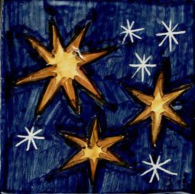 Stars - Square - San Donato Italian Ceramic Tile