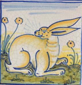 Rabbit - Square - San Donato Tile
