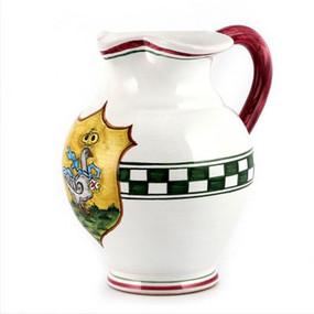 Pitcher - Palio di Siena - Italian Ceramics