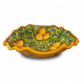 Limone Clam Bowl - Italian Ceramics