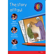 The Story of Paul: Bible Colour & Learn 14 by Various (Paperback)