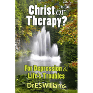 Christ or Therapy? For Depression & Life's Troubles by E.S. Williams (Paperback)