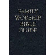 Family Worship Bible Guide (Bonded Leather)