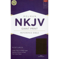 Bible NKJV Giant Print Reference