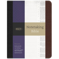 NKJV Notetaking Bible (Bonded Leather)
