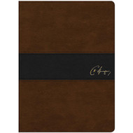 KJV Spurgeon Study Bible (Brown/Black LeatherTouch)