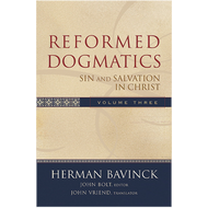 Reformed Dogmatics Vol. 3, Sin and Salvation in Christ by Herman Bavinck (Hardcover)