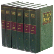 Matthew Henry's Commentary on the Whole Bible, 6 Volumes (Hardcover)