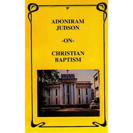 Christian Baptism by Adoniram Judson (Paperback)