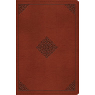 ESV Large Print Bible (Imitation Leather, Brown)