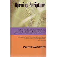Opening Scripture by Patrick Fairbairn (Hardcover)