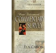 New Testament Commentary Survey, Fifth Edition by D.A. Carson (Paperback)