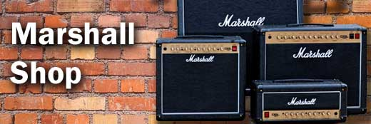 Music Shop - Amplifiers by Marshall and Other Great Brands