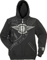 Gibson logo mens hoodie ( Extra Large )