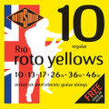 Rotosound R10 Roto Yellows Electric Guitar Strings (10-46)